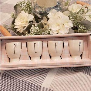 Rae Dunn peep cups